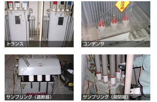 絶縁油PCB分析